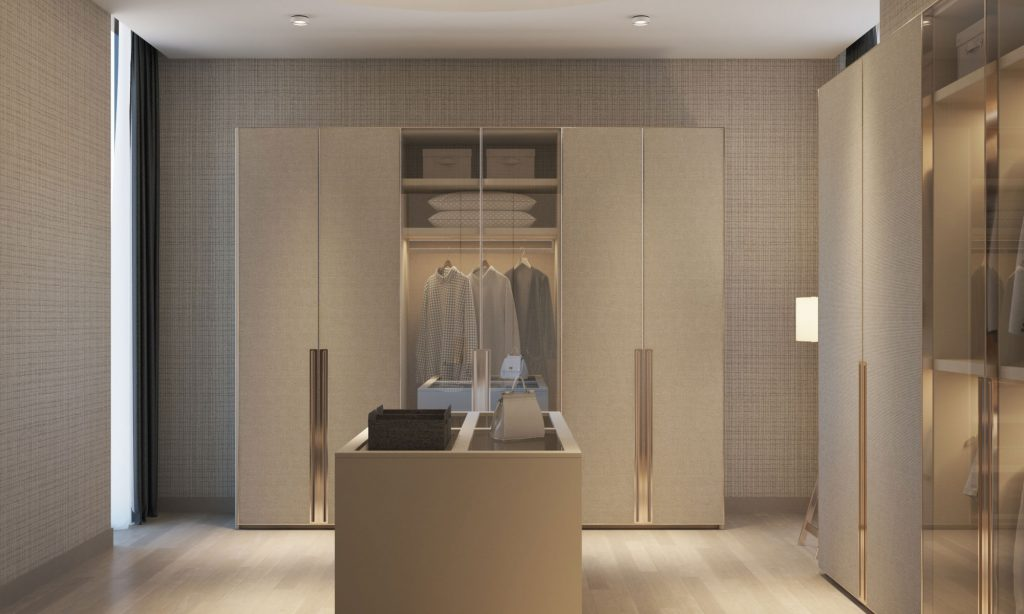 Custom walk in closet Oman project 1